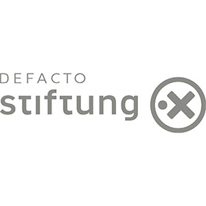 Reference Defacto.X Stiftung Logo